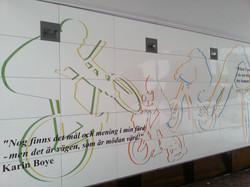 Gång- och cykeltunnel Täby
