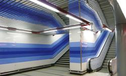 Prosek, T-banestation, Prag