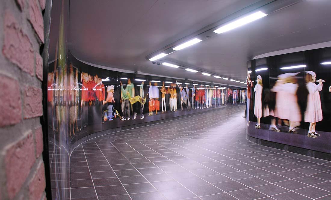 Demey, T-banestation, Belgien