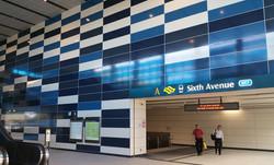 Sixth Ave, T-banestation, Singapore