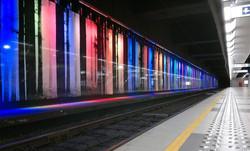 Noordstation, Bryssel, Belgien