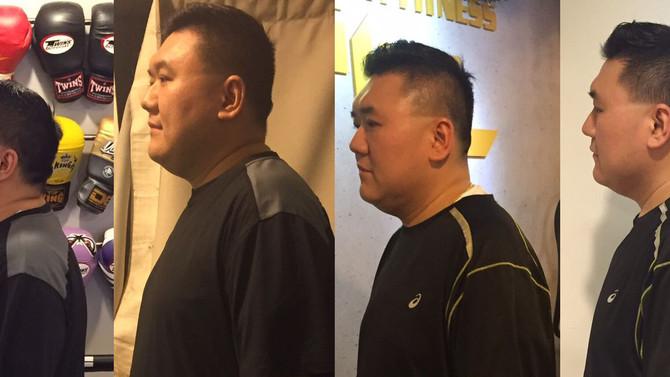 第七週 修身首階段完成 |  275磅爸爸減肥大作戰