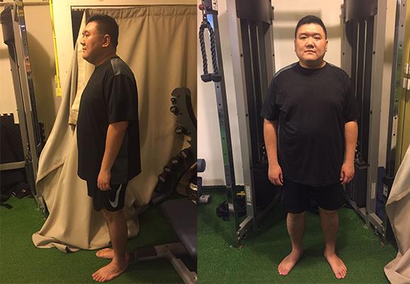 首週速減10磅   275磅爸爸減肥大作戰賽後報告