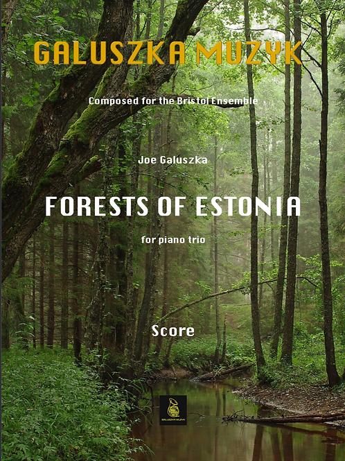 FOREST OF ESTONIA (2018) - for piano trio (Score & Parts)