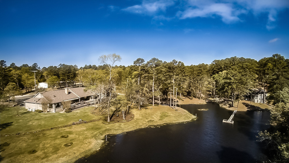 Nice Aerial Photography of a property near Tyler, Texas