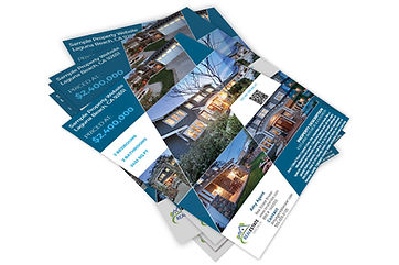Sample of 360 Media Real Estate Flyer