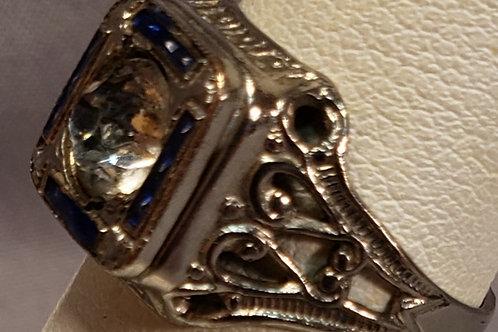 Vintage Nemco filigree ring