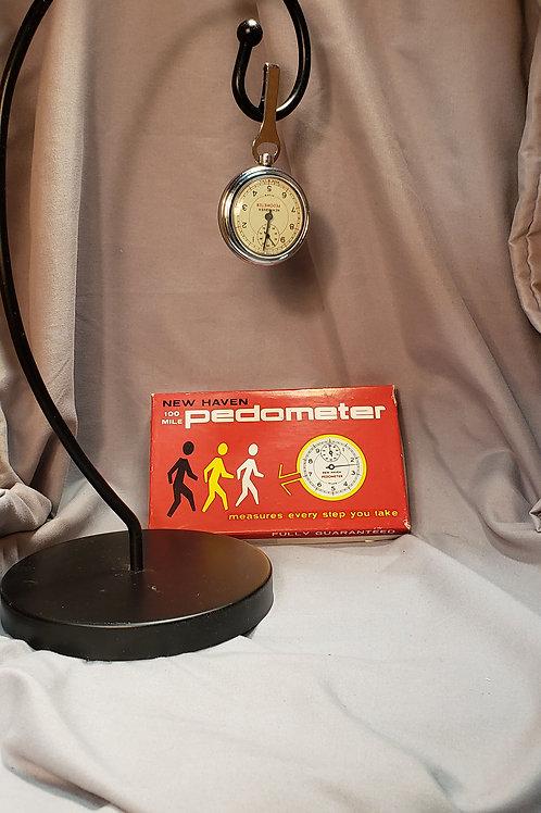 Vintage pedometer