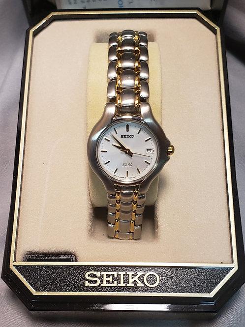 Womens Seiko kinetic watch