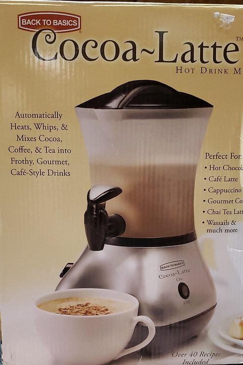 Cocoa-Latte hot drink maker