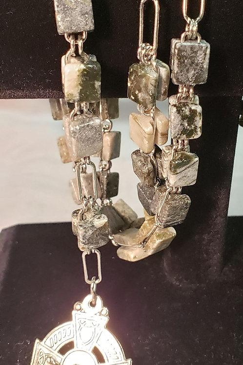 Connemara marble rosary