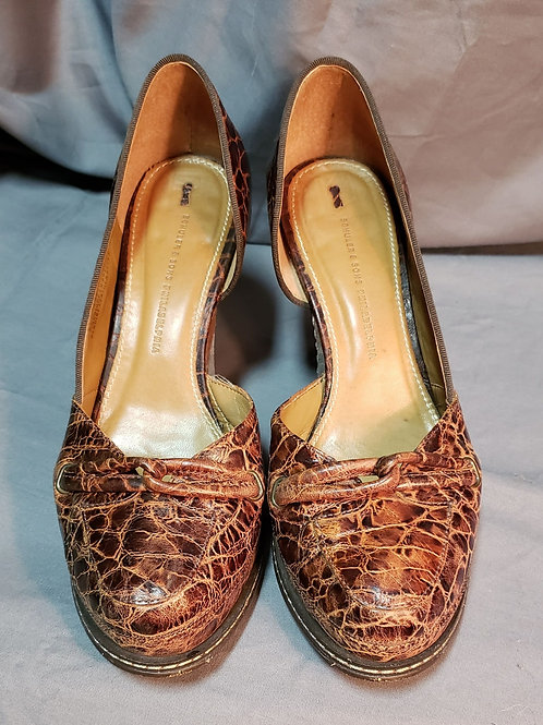 Schuler And Sons Brown Pumps