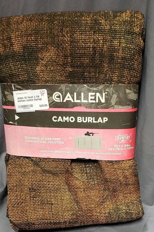 Allen Camo Burlap