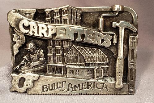 Carpenters belt buckle