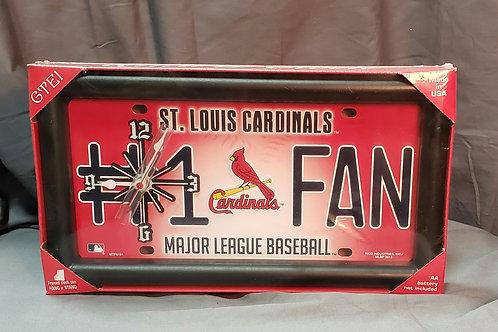 Cardinals Wall Clock