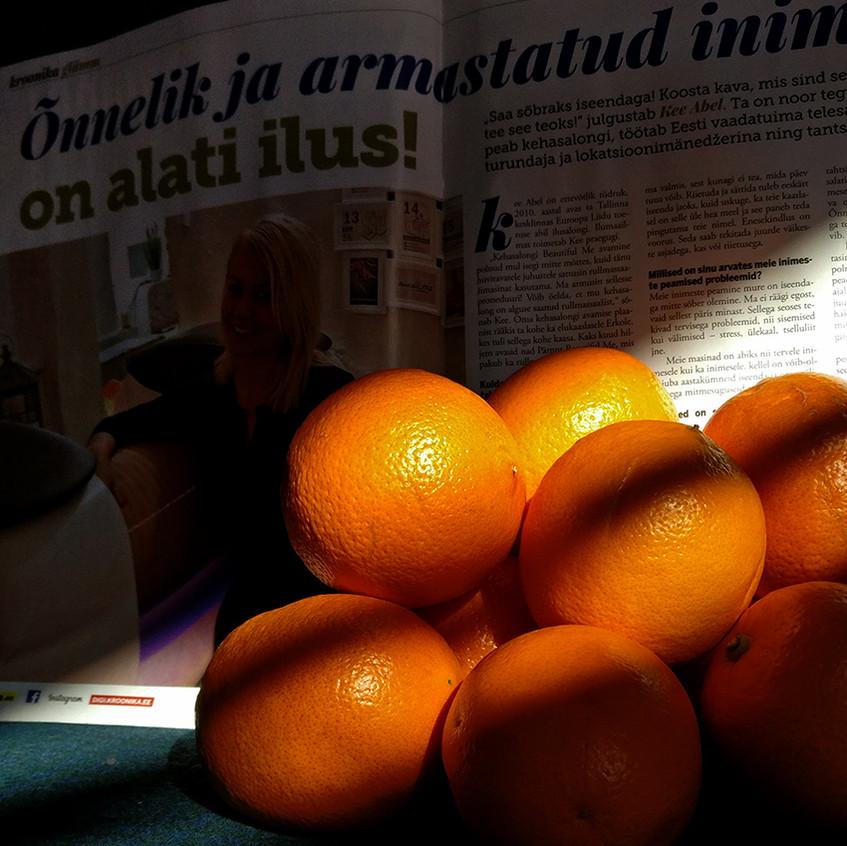 """Päike hakkab juba hellalt hellitama? Julge end talle näidata! Rullmassaaž aitab edukalt """"apelsini koore"""" vastu sinu nahal. Tselluliit - see on ainult üks asi, millest rullmassaaž edukalt jagu saab."""