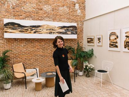 Exposición ITINERARIOS DE TINTA Galería Pavilion