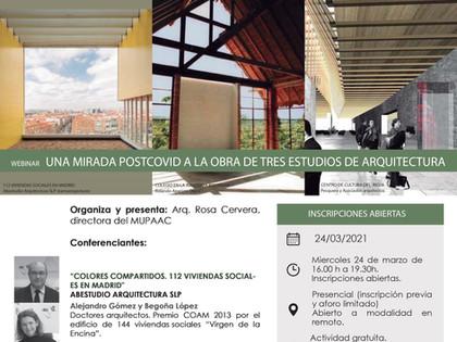 Conferencia Arquitectura Post-Covid Alcalá de Henares