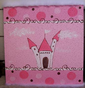 whimsy castle bulletin board