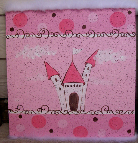 whimsy castle bulletin board