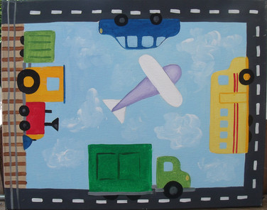 transportation bulletin board