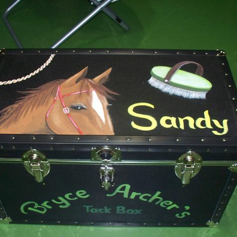 Horse trunk