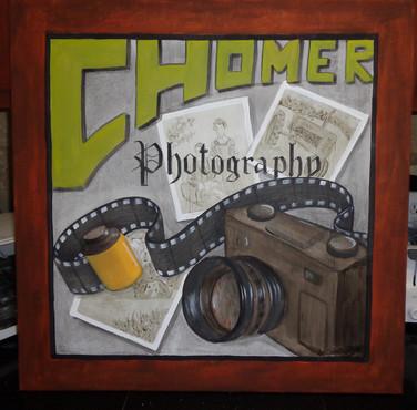 Photography on wood
