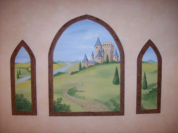 castle three boards