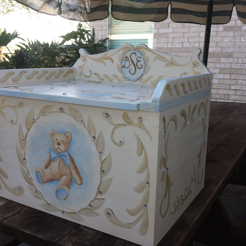 teddy bear design box