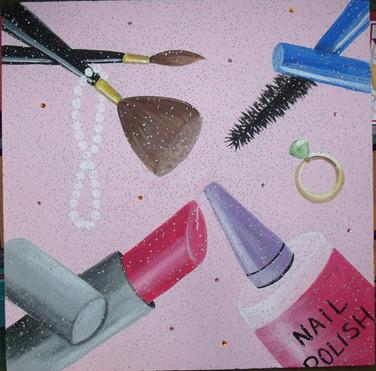 cosmetics bulletin board