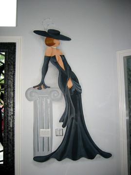 gypsie woman in black