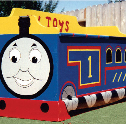 Tomas the train chest