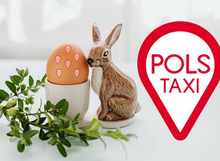 Życzenia Wielkanocne od PolsTaxi