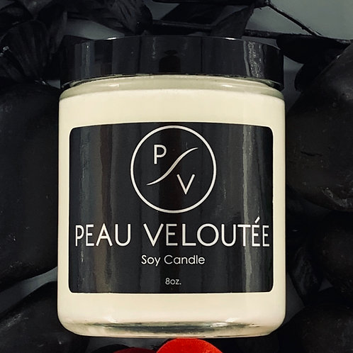 Peau Veloutee Soy Candle - 8 oz
