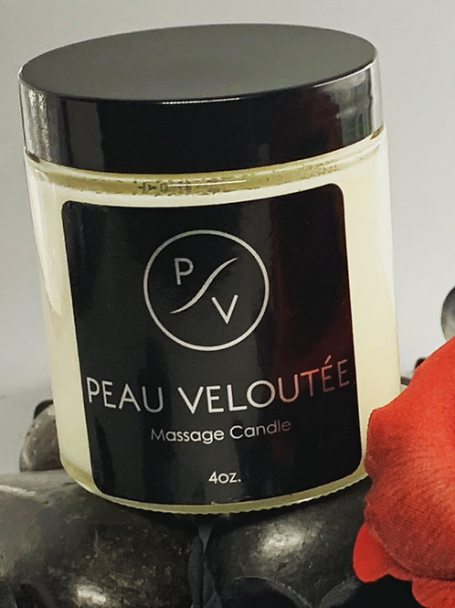 Peau Veloutee Massage Candle 4oz.
