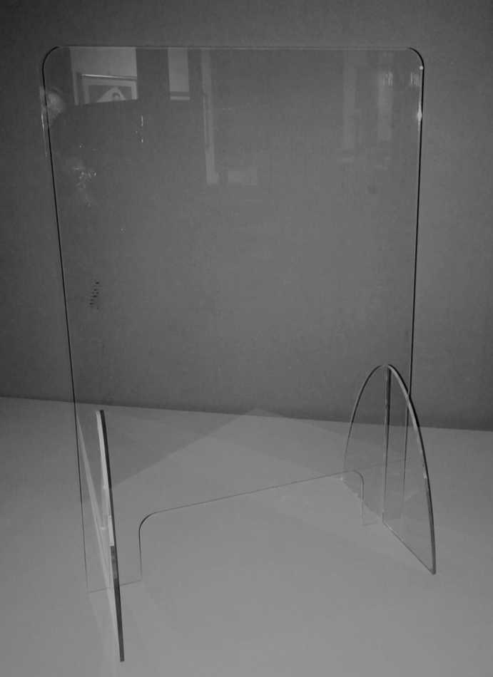Plexiglass Autoportante con Asola