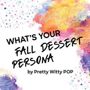What's Your Fall Dessert Persona?
