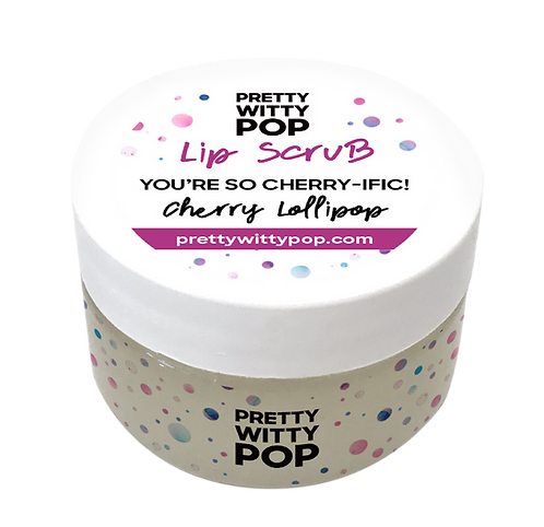 YOU'RE CHERRY-IFIC! Lip Scrub