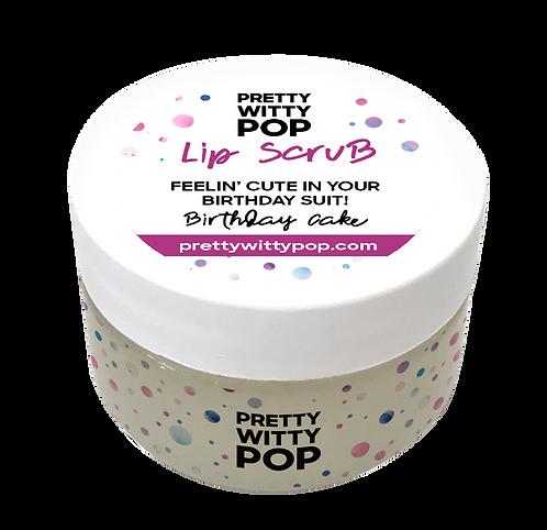 FEELIN' CUTE IN YOUR BIRTHDAY SUIT! Lip Scrub