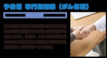 予約制 専門医相談(がん相談)