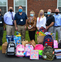 Drop off to East Greenbush Central School -- Give Back & Impact's School Supplies Drive-Thru Donation Event