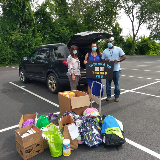 Drop off to St. Catherine's Center -- Give Back & Impact's School Supplies Drive-Thru Donation Event