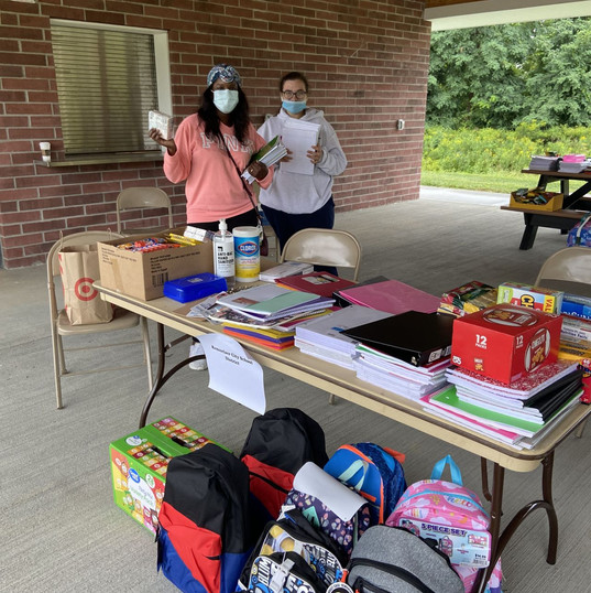 Donation Day -- Give Back & Impact's School Supplies Drive-Thru Donation Event