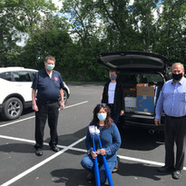 Drop off to St. Catherine's Center -- Give Back & Impact's First Drive-Thru Donation Event