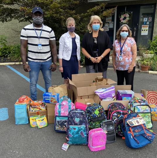 Drop off to Vanderheyden Hall -- Give Back & Impact's School Supplies Drive-Thru Donation Event
