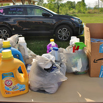Donation Day -- Give Back & Impact's First Drive-Thru Donation Event