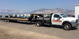 Flat Bed Truck for Same Day Hot Shot Delivery, Courier, Messenger & Cartage