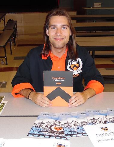 Thomas Ray Garcia Represents Princeton at CSLAP