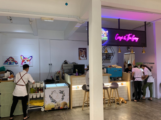 Corgi & The Gang Restaurant