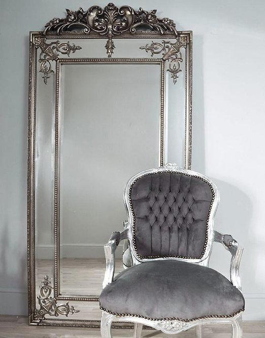 "Зеркало в раме ""Пабло"" (florentine silver)"
